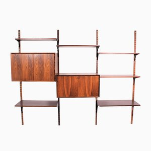 Wall System by Poul Cadovius for Cado, 1960s