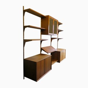 Teak Modular Shelving Unit by Poul Cadovius for Cado, 1960s, Set of 3