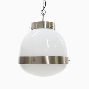 Italian Delta Grande Pendant Lamp by Sergio Mazza for Artemide, 1960s