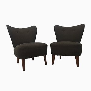 Chaises Cocktail Mid-Century, Set de 2