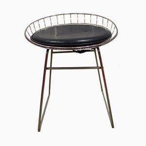 Tabourets Modèle KM05 par Cees Braakman pour Pastoe, 1950s, Set de 2