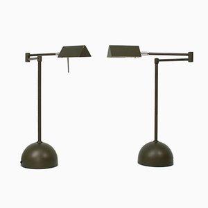 Deutsche Lampen von Koch & Lowy, 1980er, 2er Set