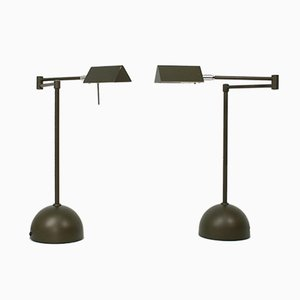German Lamps from OMI Sölken Leuchten, 1980s, Set of 2