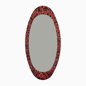 Espejo vintage de SIVA Poggibonsi
