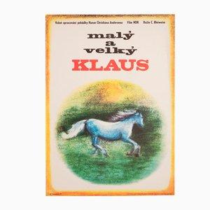 Little Claus and Big Claus Filmposter von Eva Svobodová, 1973