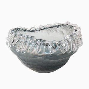 Jarrón Mid-Century moderno de cristal de Murano, años 60