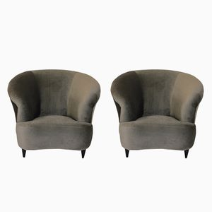 Mid-Century Lounge Chairs by Ico & Luisa Parisi, Set of 2