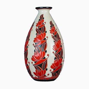 Prototype Vase von Leon Lambillotte für Boch Freres Keramis, 1926