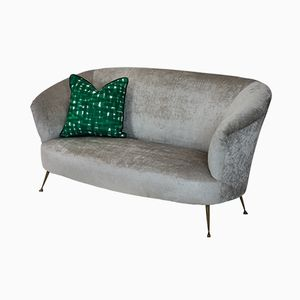 Mid-Century Curved Sofa by Ico & Luisa Parisi
