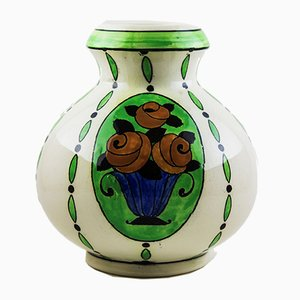 Art Deco Model 789 Vase by Charles Catteau for Boch Keramis