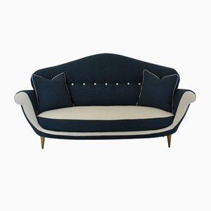 Großes italienisches Mid-Century Sofa