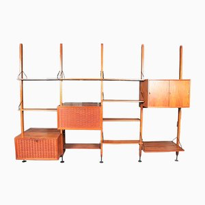 Mid-Century Teak Storage Unit by Poul Cadovius for Royal Systems