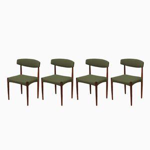 Esszimmerstühle aus Palisander, 1960er, 4er Set