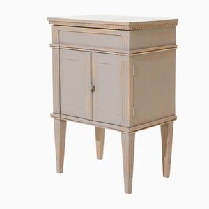 Gustavian Swedish Cabinet with Fluting, 1900s