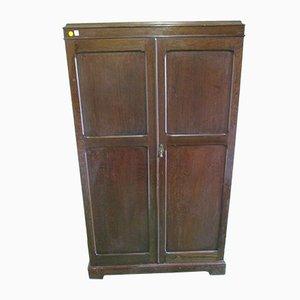 Vintage English Oak Compactum Wardrobe