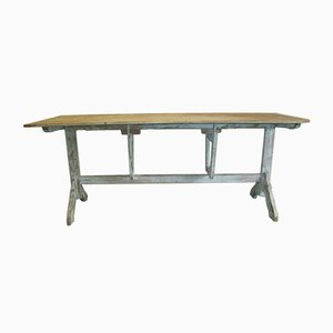 Table de Vigneron Vintage en Pin