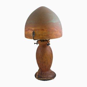 Vintage Mushroom Lamp from Lorrain-Daum, 1920s