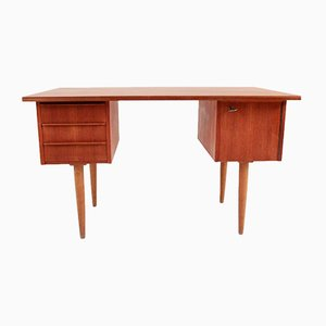 Small Mid-Century Danish Teak Desk, 1969