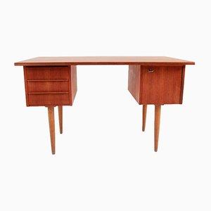 Small Mid-Century Danish Teak Desk, 1969