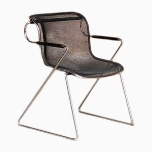 Mid-Century Penelope Chair by Charles Pollock for Castell, 1980s