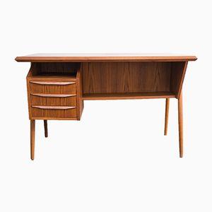 Mid-Century Danish Teak Desk by Gunnar Nielsen Tibergaard, 1950s