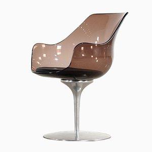 Sedia Champagne di Erwin & Estelle Laverne per Formes Nouvelles, 1962