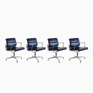 Stühle mit weichem Sitz von Charles & Ray Eames, 1995, 4er Set