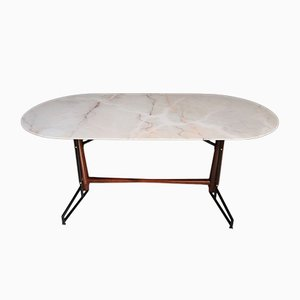 Italian Marble Dining Table, 1950s