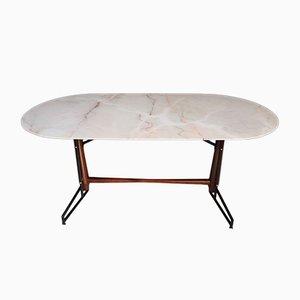 Italienischer Esstisch aus Marmor, 1950er
