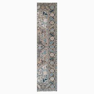 Turkish Oushak Runner Carpet, 1970s