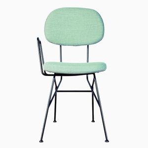 40+10 Sessel in Aquamarinblau von Maurizio Navone für RestartMilano