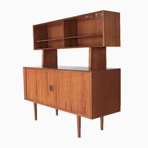 Vintage Sideboard with Hutch by Svend Aage Larsen for Faarup Møbelfabrik
