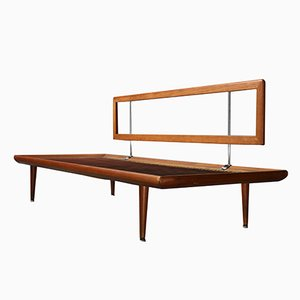 Mid-Century 3 Seater Minerva Sofa Frame by Peter Hvidt for France & Son, 1960s
