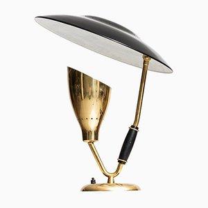 Lámpara de mesa vintage de Svend Aage Holm Sørensen para Holm Sørensen, años 50
