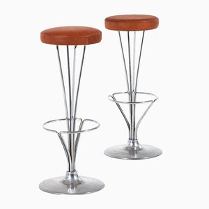 Vintage Bar Stool by Piet Hein for Fritz Hansen