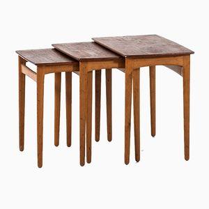 Vintage Nesting Tables by Svend Aage Madsen for Sigurd Hansen Møbelfabrik, 1950s