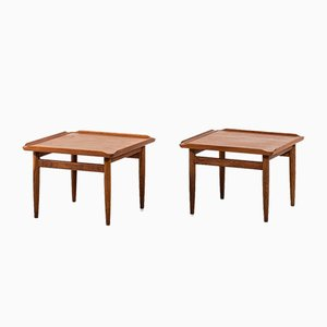 Side Tables by Kurt Østervig for Jason Møbler, 1950s, Set of 2