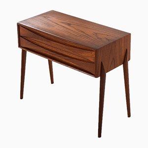 Table d'Appoint Vintage par Rimbert Sandholt pour Glas & Trä Hovmantorp, Suède, 1960s