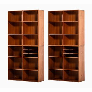 Bookcases by Mogens Koch for Rud. Rasmussen, 1933, Set of 2