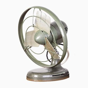 Vintage Industrial Table Fan from Tatrasmalt, 1960s