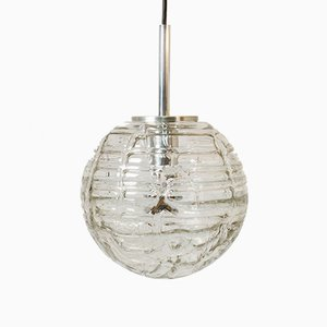 Vintage Glass Pendant Lamp from Doria Leuchten