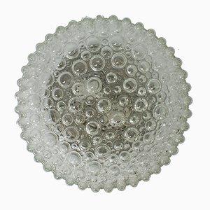 Vintage Glas Deckenlampe von Helena Tynell für Limburg