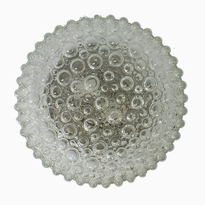 Vintage Glass Ceiling Lamp by Helena Tynell for Limburg