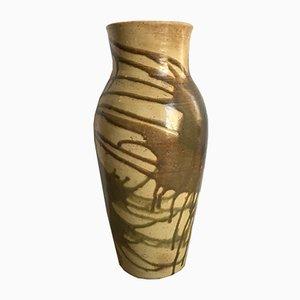 Jarrón antiguo de cerámica de Eugène Lion