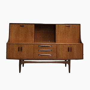 Vintage Highboard by Victor Wilkins for G-Plan, 1960s