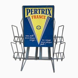 Présentoir Publicitaire Vintage, France