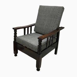 Antique Edwardian Reclining Chair