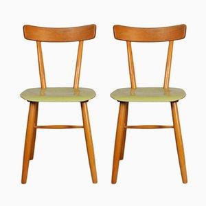 Französischer Mid-Century Stühle von TON, 1960er, 2er Set