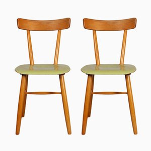Mid-Century French Chairs from TON, 1960s, Set of 2