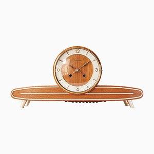 Reloj de repisa Mid-Century de Junghans, años 50